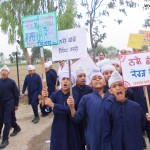 Students of Akal Academy Dhanal Kalan organized a Rally against Drug Addcition!