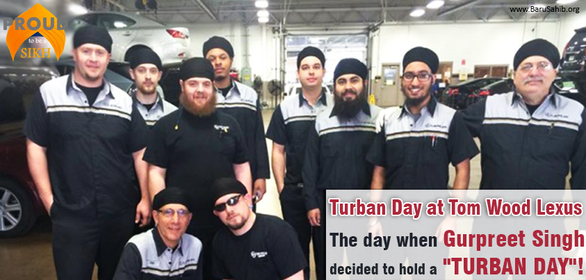 turban day at tom wood lexus: the day when gurpreet singh decided to