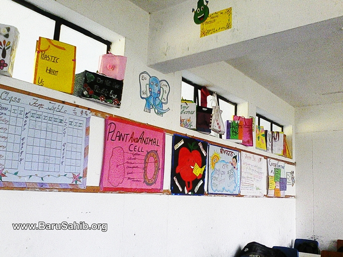 Students of Akal Academy. Paint the walls with Creativity Enjoy ...
