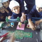 Recycling Challenge - Students of Akal Academy, Dhotian show their creative side!