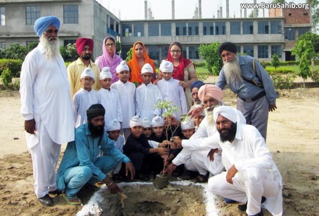 Akal Academy Planted Trees