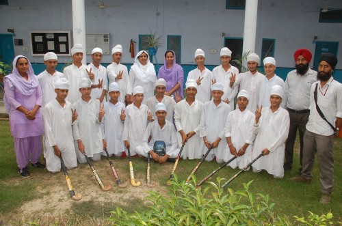 Akal Academy Won First Prize in Hockey Competition