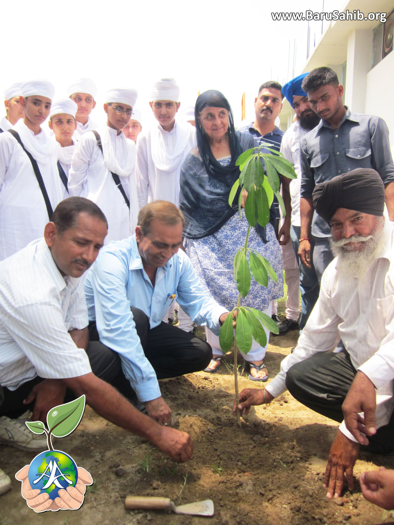 Akal academy Gomtipul Celebrated Tree Plantation Day