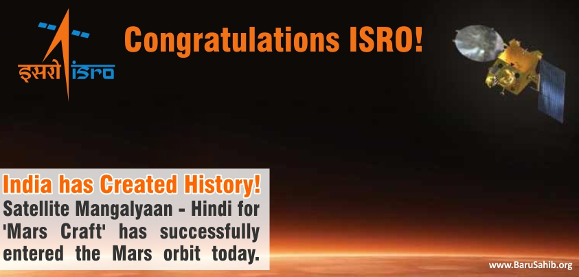india has created history as satellite mangalyaan