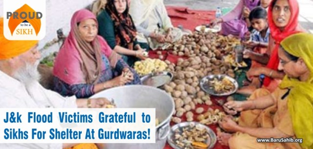 J&K flood victims grateful to Sikhs for shelter at gurdwaras