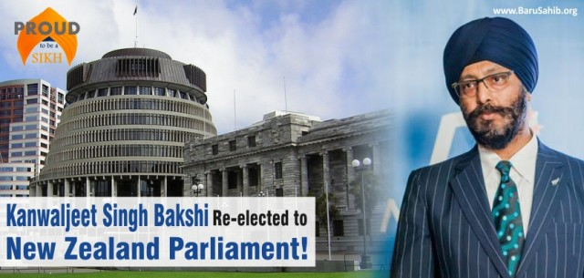 Sikh Re-elected to New Zealand Parliament