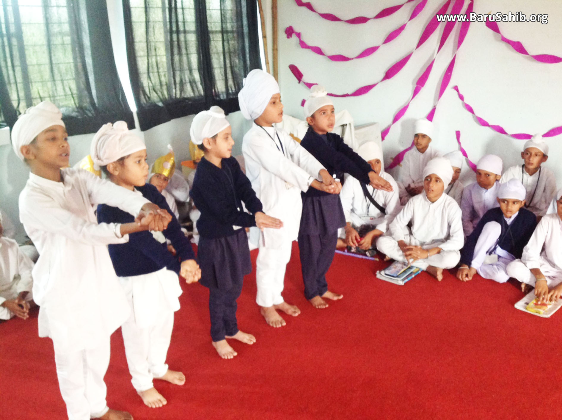 Special Kirtan Prigramme at Akal Academy Makhangarh!