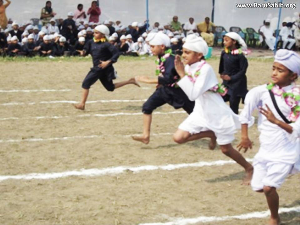 Inter - Academy Athletic Meet 2014 - 2015 held at Akal Academy Gomtipul!