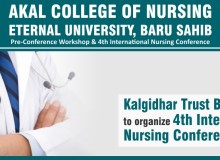 Kalgidhar Trust Baru Sahib to organize 4th International Nursing