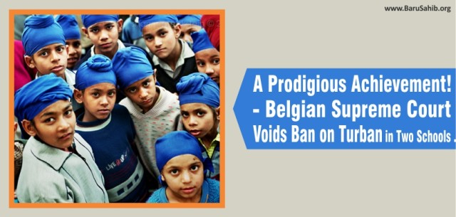 Legal Victory Belgian Supreme Court Overturns Ban on Turban in GO School