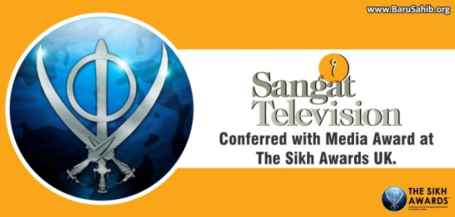 Sangat TV wins Sikh Award