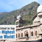 Baru Sahib Listed in top 5 Gurdwara's at The Highest Altitude in The World!