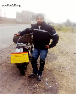 Singh bikes away for a Cause!