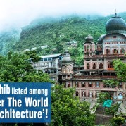 Gurdwara Baru Sahib listed among the Gurdwaras all over the World with 'Amazing Architecture'!