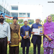 Young aces of Akal Academy, Dhotian secured First Position in Gurmat Competition!