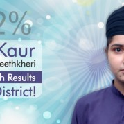 Puneet Kaur , Student of Akal Academy Reetkheri takes the Lead in CBSE 12th Results in Patiala!