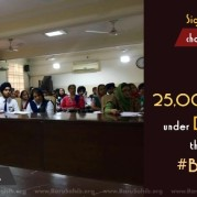 25,000 GHPS students under DSGMC pledge their support to #BanSikhJokes