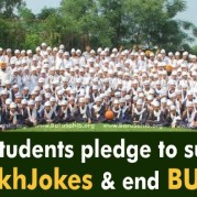 Sikh Students pledge to support #BanSikhJokes & end to BULLYING!