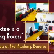 Every Practice is a New Learning Process! - Mathematics Quiz at Akal Academy, Basarke