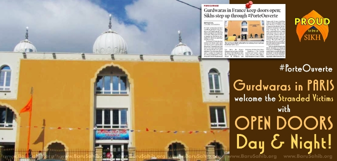 Gurdwaras In Paris Welcome The Stranded Victims Day Amp Night