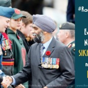 Even Canada's Newly Appointed SIKH Defense Minister not spared from Racial Abuse