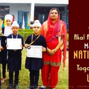 Students of Akal Academy, Dhotian Make It to the National Level in Yoga Championship Under 14!
