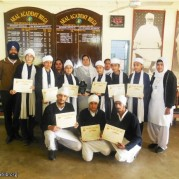 Students of Akal Academy, Bilga stand THIRD at the All India Shabad Gayan Competition