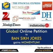 Global Online Petition to BAN SIKH JOKES gains MOMENTUM!