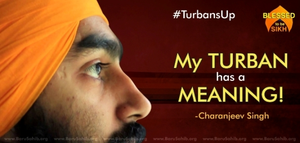 MY TURBAN HAS A MEANING.