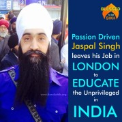 Passion Driven Jaspal Singh leaves his Job in LONDON to EDUCATE the Unprivileged in INDIA