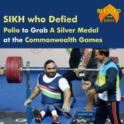 SIKH who Defied Polio To Grab A Silver Medal At The Commonwealth Games