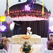 Prakash Purab of Guru Gobind Singh Ji celebrated at Akal Academy, Gompti