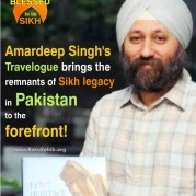 Amardeep Singh's Travelogue brings the remnants of Sikh legacy in Pakistan to the forefront!