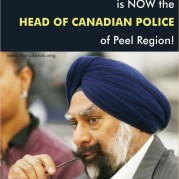 Amrik Singh Ahluwalia is NOW the Head of Canadian Police of Peel Region!