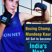 Boxing Champ, Mandeep Kaur - All Set to become India's Next Mary Kom!