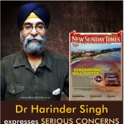 Dr Harinder Singh expresses SERIOUS CONCERNS about Bauxite Mining in MALAYSIA!