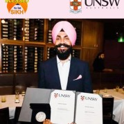 Dr Kamal Singh brings laurels by topping MBBS at the University of New South Wales