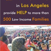 Sikhs in Los Angeles provide HELP to more than 500 Low Income Families
