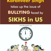 18 Yr Old Karanveer Singh takes up the issue of BULLYING faced by SIKHS in US