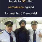 Waris Ahluwalia heads to NY after AeroMexico agreed to meet his 3 Demands!