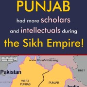 Punjab had more scholars and intellectuals during the Sikh Empire!