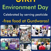 Sikh Environment Day Celebrated by serving pesticide-free food at 50,000 Gurdwaras!