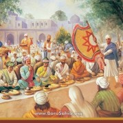 The story behind Granting of land for Langar by Akbar