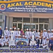 Students of Akal Academy, Kajri had a Rendezvous with Astronomy on WORLD ASTRONOMY DAY