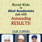 Rural Kids in Akal Academies pass with astounding Results!