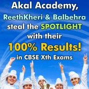 Akal Academy, ReethKheri & Balbera steal the SPOTLIGHT with their 100% Results!
