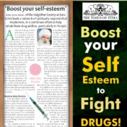 Boost your Self Esteem to Fight DRUGS!