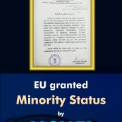 EU granted Minority Status by NCMEI (1)