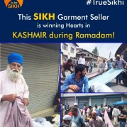 This SIKH Garment Seller is winning Hearts in KASHMIR during Ramadan!