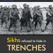 Sikhs refused to hide in TRENCHES to show their contempt for DEATH during WWI!